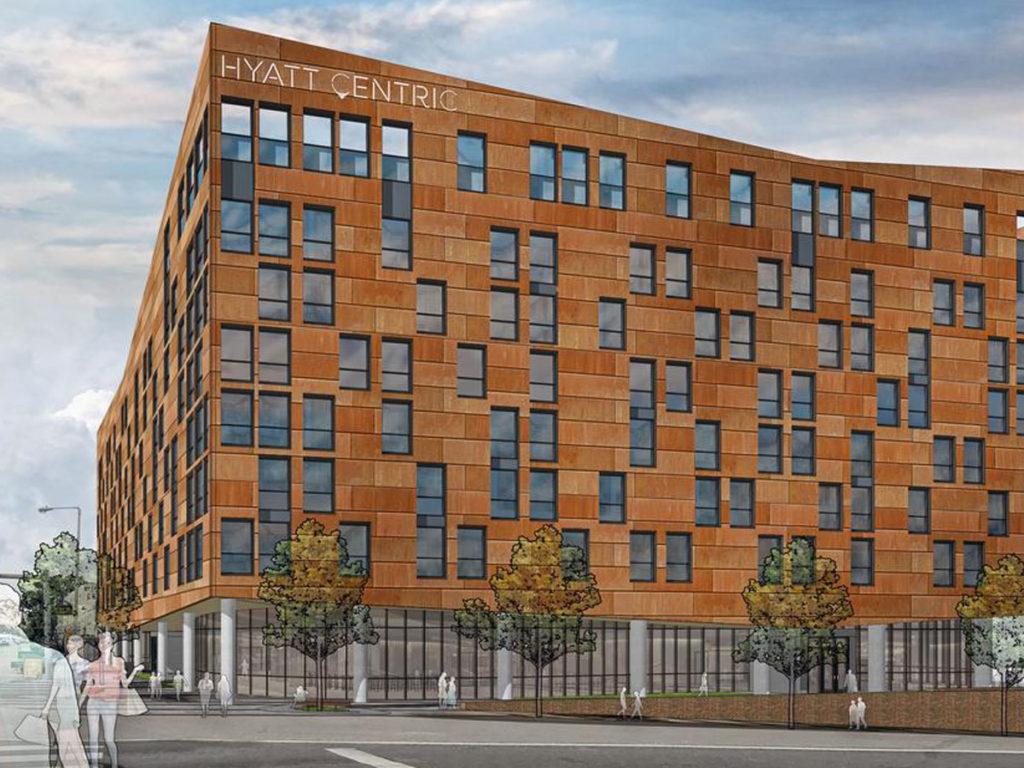 Rendering Hyatt Centric