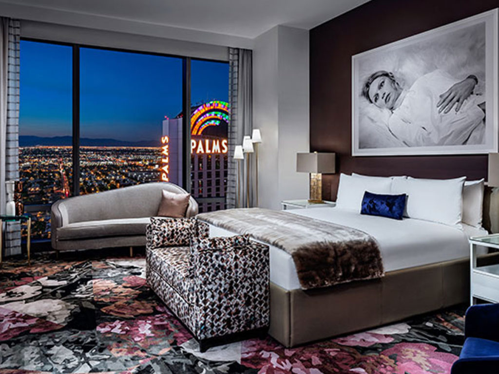 The Palms Casino Resort redesigns guestrooms