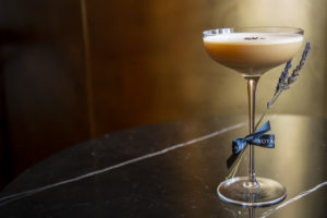 Darkness and Disgrace draws inspiration from several classic cocktails, namely the Rum Flip and Espresso Martini.