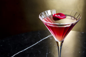 The Femme Fatal cocktail has been created with David Bowie's love of martinis in mind.