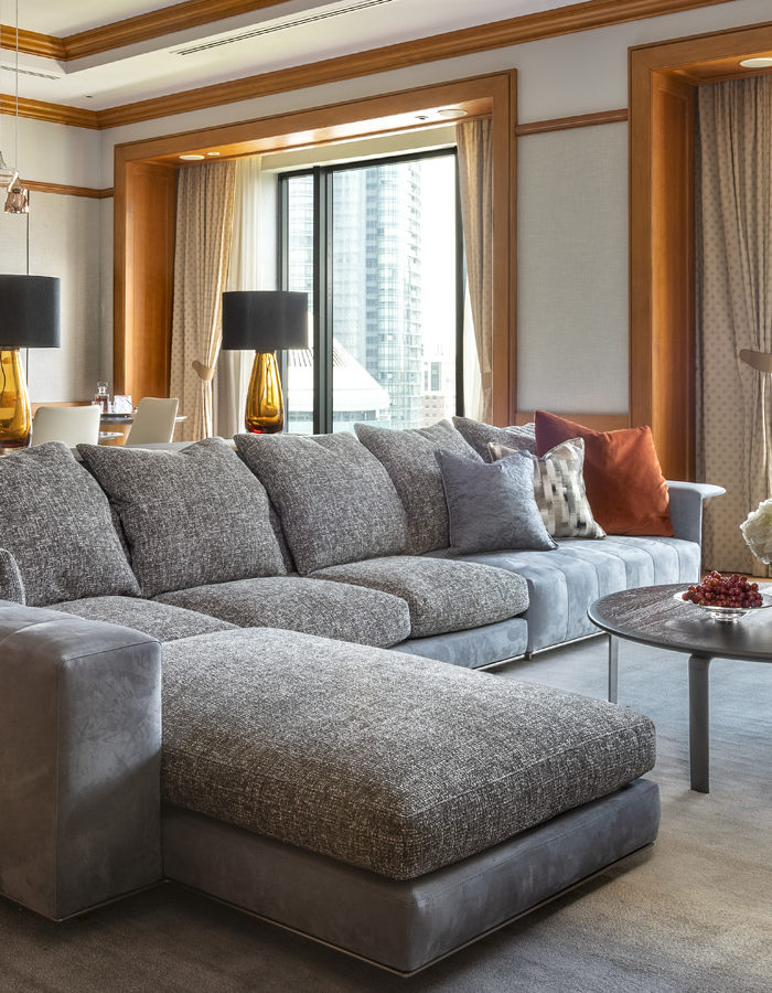 The Governor Suite at the Four Seasons Hotel Singapore