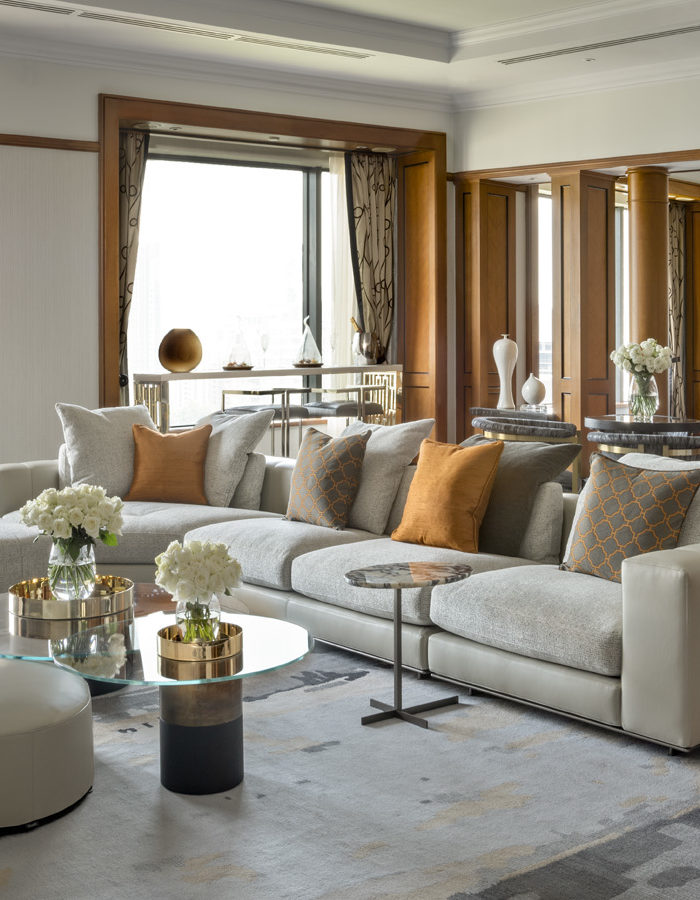 The Presidential Suite at the Four Seasons Hotel Singapore