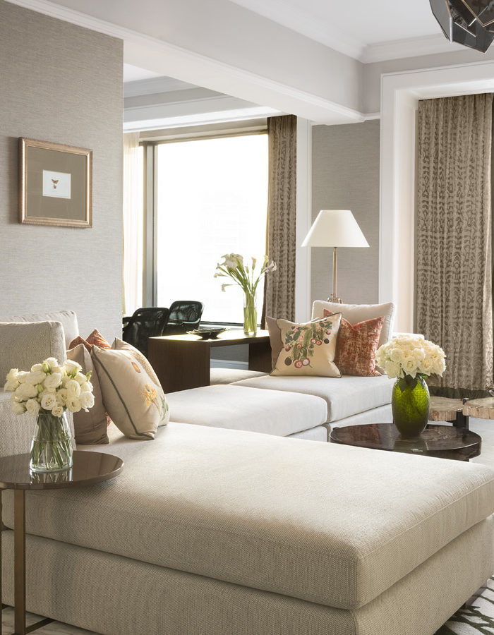 The Royal Suite at the Four Seasons Hotel Singapore