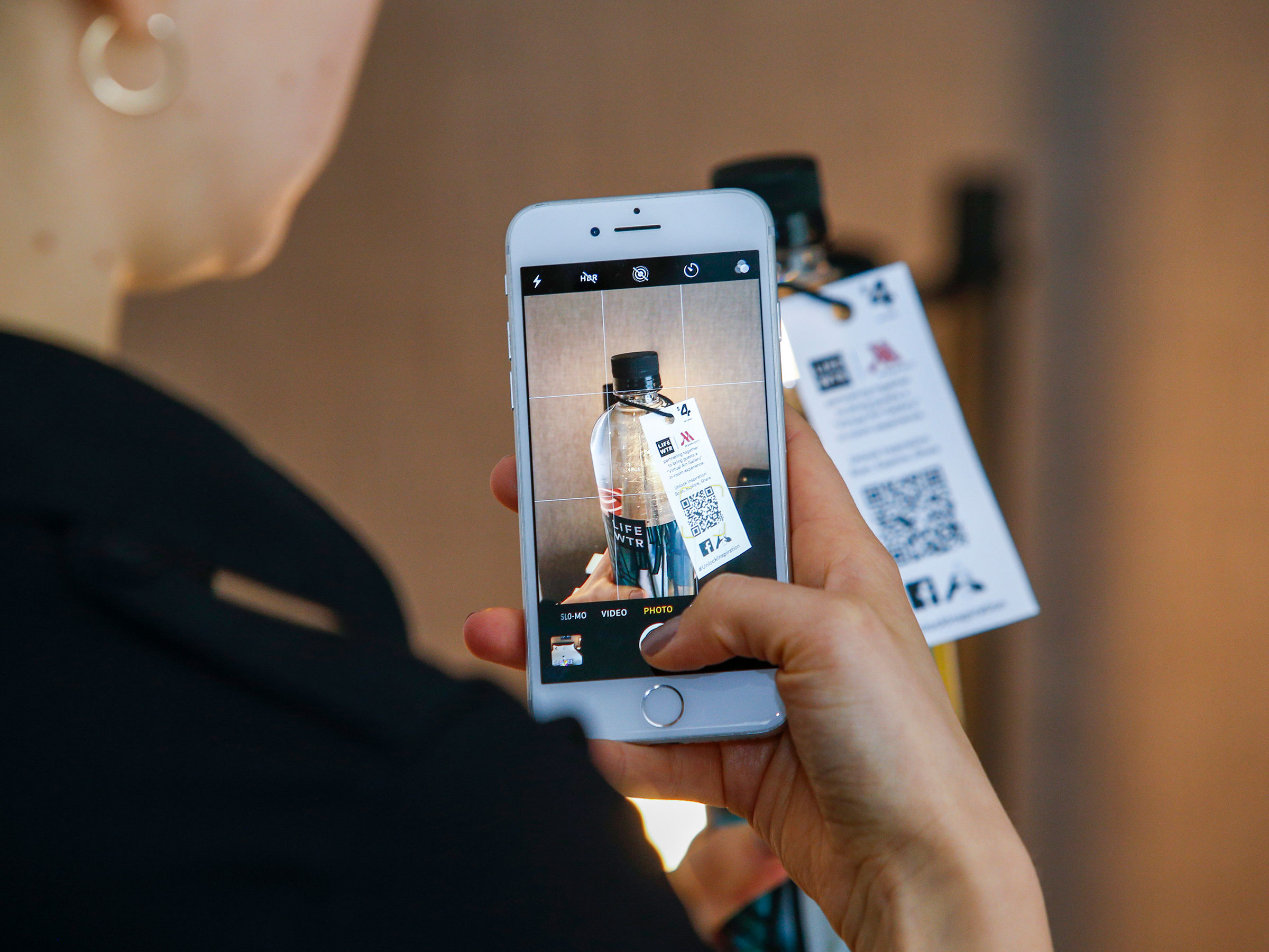 Marriott has partnered with LIFEWTR for an in-room augmented reality guest experience.
