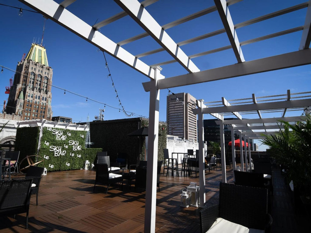 Lord Baltimore Hotel's Skybar